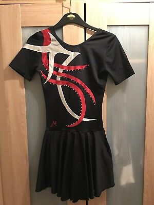 Ladies / Adult Small Black Ice Skating Dress