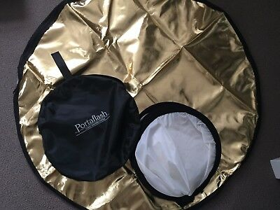 Portaflash portable reflector/diffuser