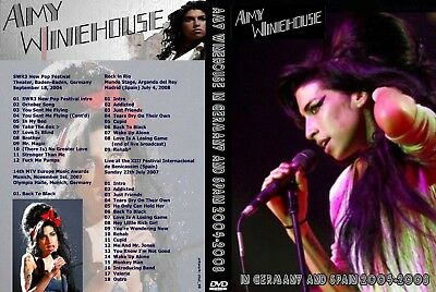 Amy Winehouse. Live In Germany And Spain. Dvd.