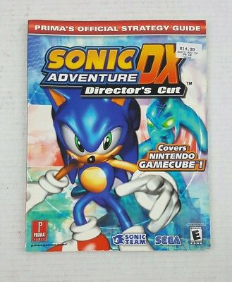SONIC ADVENTURE DX Strongest Strategy Guide Book / GC