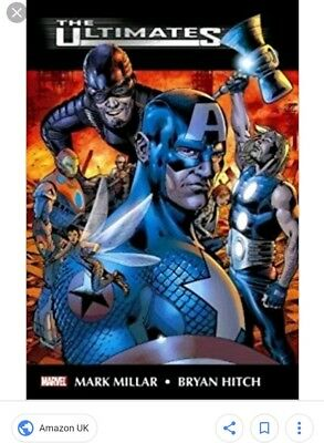 The Ultimates Omnibus Mark Millar Bryan Hitch Marvel, rare, 880 pages, UK seller