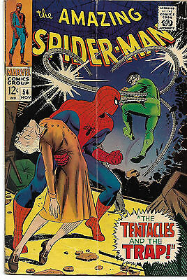 Amazing Spider-Man 54 (1963 1st Series)  G/VG 3.0