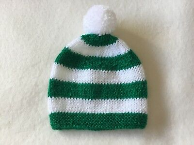 Glasgow Celtic Colours baby's team supporter hat Fits 3/6months