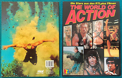 JCVD Van Damme THE WORLD OF ACTION Buch Book Livre Very Rare Selten Limited OOP