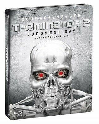 TERMINATOR 2 Limited Steelbook Extended Director's Cut Special Edition BD Bluray