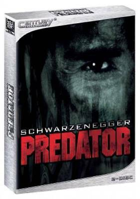 Schwarzenegger * PREDATOR * Limited Digipak Century3 Cinedition Uncut 2 Disc DVD