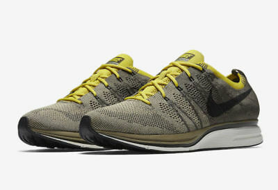 newest f1658 792bf Mens Nike Flyknit Trainer AH8396-300 Cargo Khaki Brand New Size 11.5
