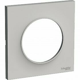 Odace Styl Plaque Sable 1 Poste Schneider S520702B1