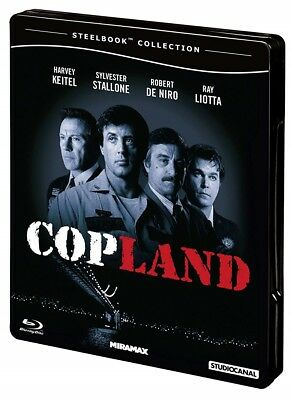 Stallone * COPLAND * Director's Cut + R-Rated * Limited Steelbook * BD Blu-ray