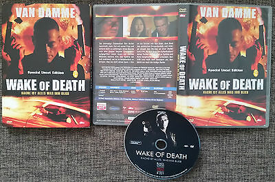 JCVD Van Damme WAKE OF DEATH Black Edition Special Uncut Unrated DVD Rare Selten