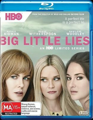 Big Little Lies : Season 1 Blu-Ray : NEW