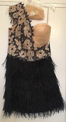 Authentic Terani cocktail/prom/Chiristmas Party/New Year dress size 8UK