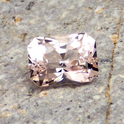 MORGANITE-NIGERIA 1.93Ct CLARITY VS2-NATURAL UNTREATED PASTEL PINK COLOR!