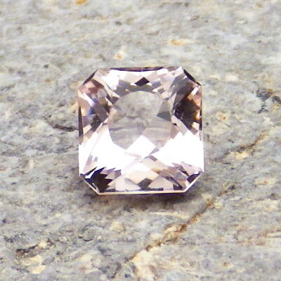 MORGANITE-NIGERIA 1.50Ct FLAWLESS-NATURAL PASTEL PINK COLOR-FOR TOP JEWELRY!