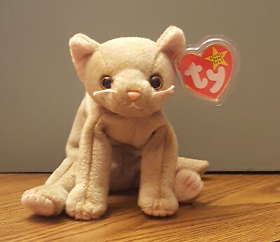 TY BEANIE BABY - SCAT the Cat (5.5 inch) - MWMTs Stuffed Animal Toy ... 392ab1470600