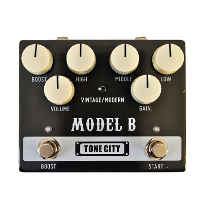 Tone City Model B Distortion Guitar Effect Pedal New