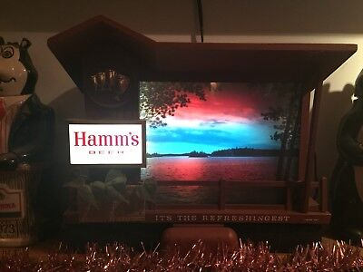 TWILIGHT SUNRISE SUNSET HAMMS Brewing Company Motion Beer Sign MOTOR ONLY