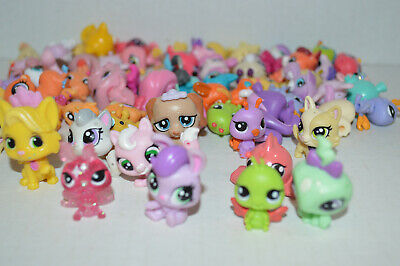 Littlest Pet Shop~Lot Of 10 RANDOM Mini Baby Pets~Nice Selection~No Duplicates