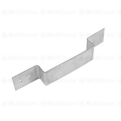 Fence Panel Security Bracket Anti Rattle Concrete Wooden Fence Post Galvanised
