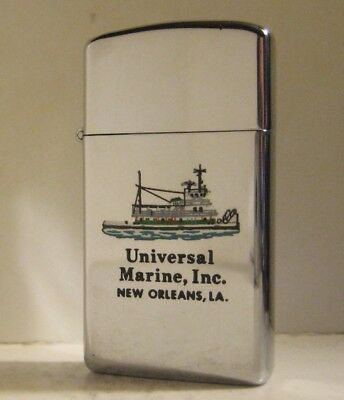 1967 Slim Zippo Universal Marine New Orleans Tugboat Town & Country Paint