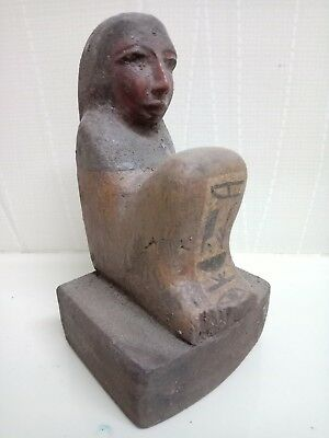 Rare piece of ancient Egyptian civilization . wood