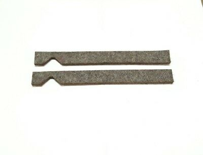 """NEW Felt Saddle Wiper Way Set for South Bend Metal Lathe 9/"""" and 10k"""