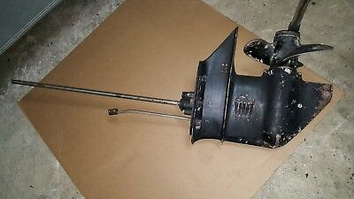 "Evinrude Johnson 9.9 15 Hp Outboard Motor Lower Unit Xl Shaft 25"" Sailboat Sel"