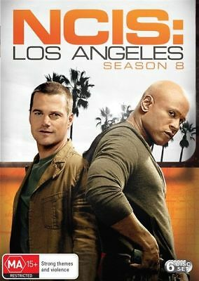 NCIS - Los Angeles : Season 8 (DVD, 2017, 6-Disc Set)