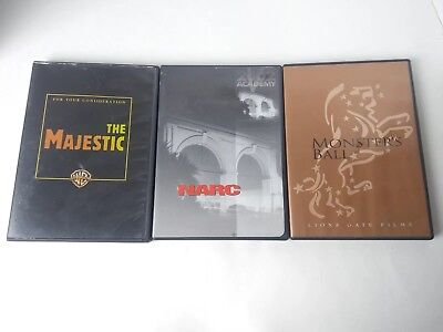 For your consideration DVD screener The Majestic Narc Monster's Ball lot of 3