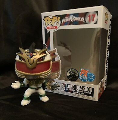 Funko Pop! Comics Power Rangers Lord Drakkon Exclusive New In Protector!