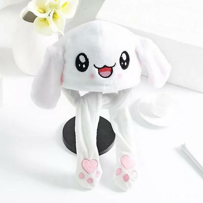 3e8c666d Cute Rabbit Hat Ear Will Move When You Hold The Leg Funny Plush Hat Chic Hot