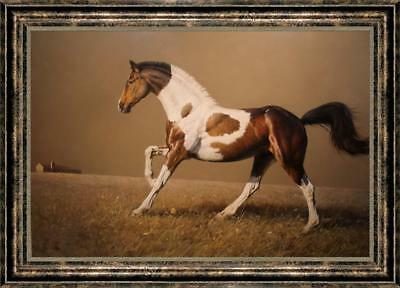 """Hand-painted Original Animals Oil painting art runing horse on Canvas 30""""x40"""""""
