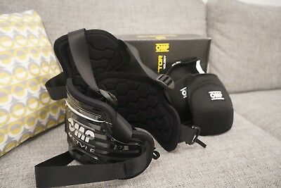 OMP Body Protector Black Size M/L + Knee Pads! *NEVER WORN*