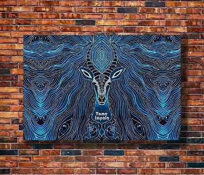 T1333 Silk Poster Tame Impala Trippy Psychedelic Star Rock Music Band Art Print