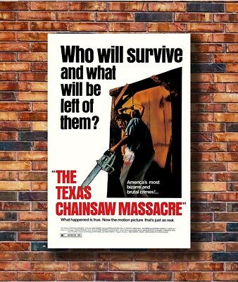 T2126 Silk Poster THE TEXAS CHAINSAW MASSACRE Movie Horror Leatherface Art Print