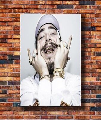 T2578 20x30 24x36 Silk Poster Post Malone Custom Rap HipHop Music Art Print