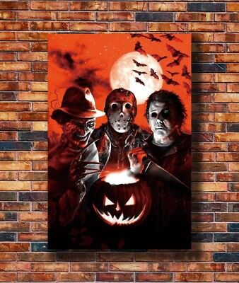T2401 30 24x36 Silk Poster Horror Movie Jason Voorhees Friday the 13th Art Print