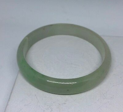 Vintage Jade Crystal Peking  Bracelet Bangle Childs 514 chinese estate