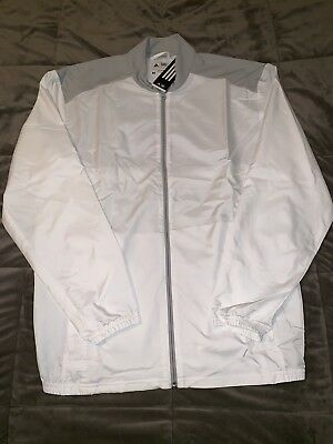 9be6a62a6a6b8 NEW ADIDAS MENS ADICLUB Wind Vest Golf AE5945 White Small S ...