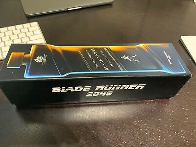 Johnnie Walker Black - Blade Runner 2049 - Bottle and Box (no liquor)