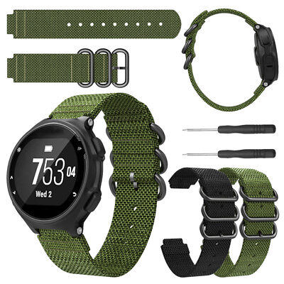 For Garmin Forerunner 220 230 235 620 Watch Woven Nylon Band Replacement Strap