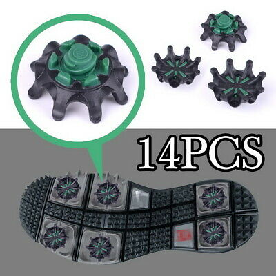 Golf Shoe Spikes Replacement Pins Studs Fast Twist Cleat For Footjoy Black&Green