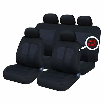 UKB4C Modern Full Set Front & Rear Car Seat Covers for Jeep Compass All Years