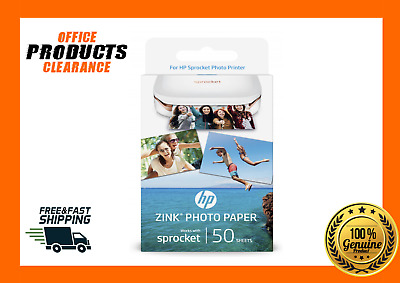 HP SPROCKET ZINK Sticky Backed Photo Paper 50 Pack