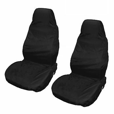 Water Resistant Front Pair of Car Seat Covers for Peugeot 3008 09-On