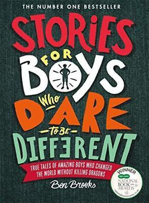 Stories for Boys Who Dare to be Different - Ben Brooks - Free Shipping