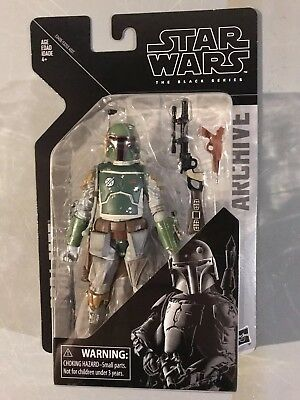 "Boba Fett Star Wars Black Series Archive Edition 6"" (New 2019)"