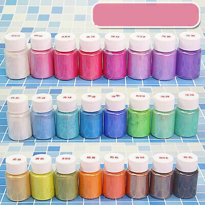 Natural Mica Powder Pigment Soap Nail Art Epoxy Resin Colorant Dye Craft DIY