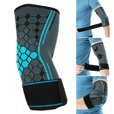 Durable Adjustable Tennis Elbow Support Strap Forearm Protector Pain Relief UK