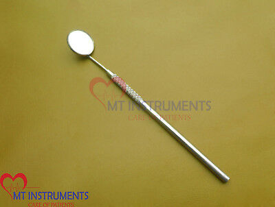 100 Pieces of Dental Mirror handle with Mirror # 5 High Quality Stainless Steel